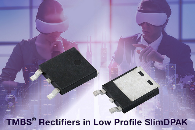 Rectifiers in SlimDPAK Save Space, Improve Thermal Performance and Efficiency
