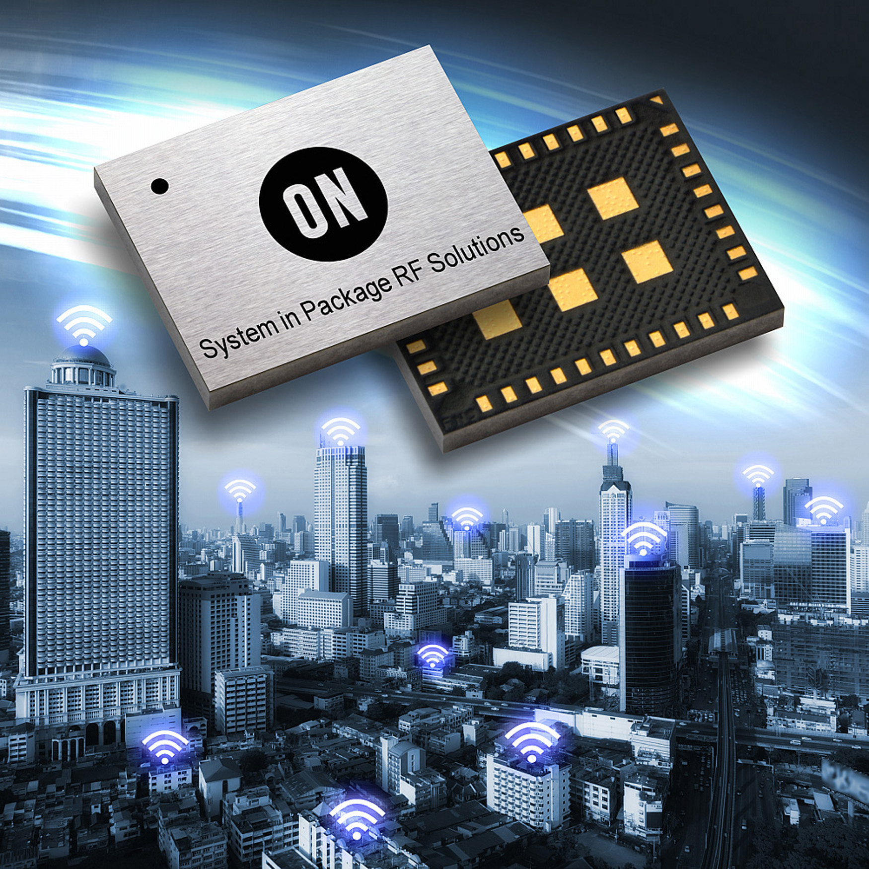 System-in-Package Turnkey RF Solution Provides Module-Like Functionality in an IC Form Factor