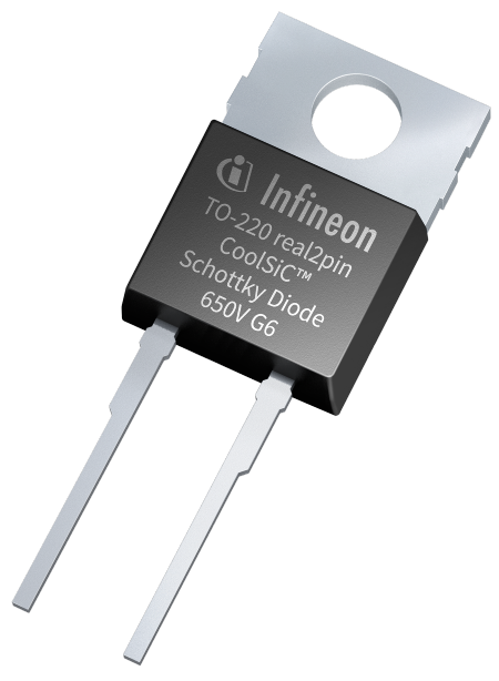 650 V Schottky Diodes Provide for Fast Switching