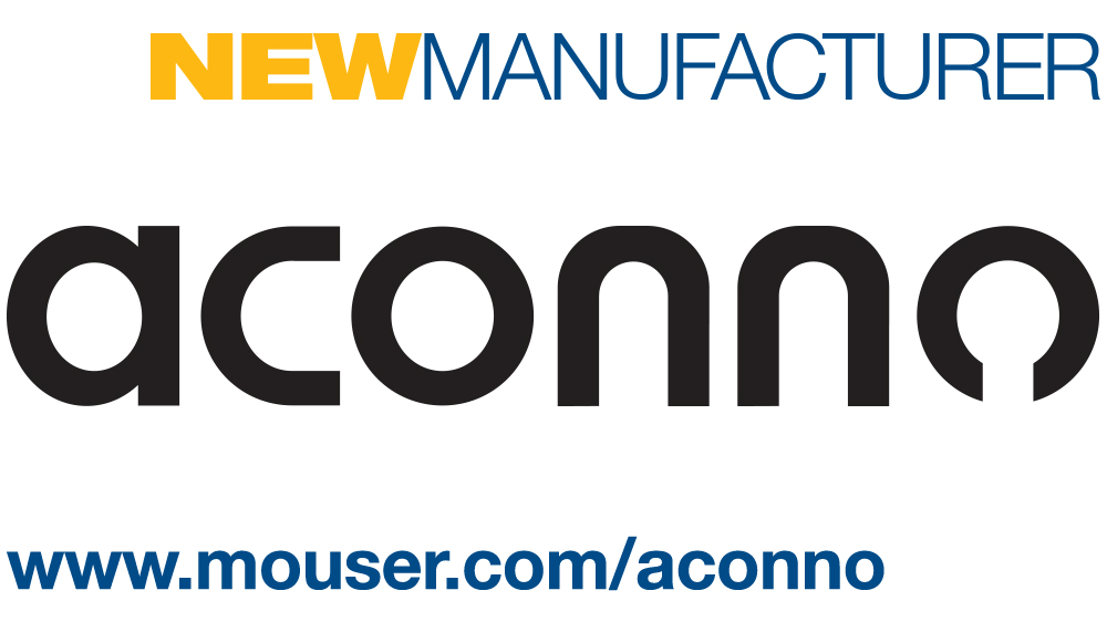 Mouser Electronics and aconno Sign Global Distribution Agreement