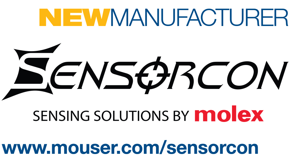 Mouser Signs Global Agreement with Molex Sensorcon to Distribute Pocket-Sized Environmental Sensor Solutions