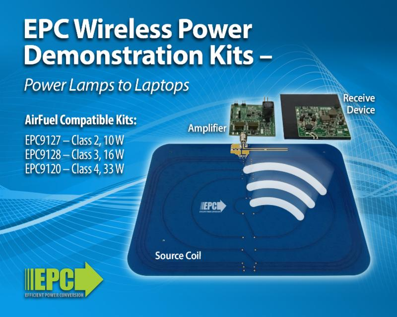 Demonstration Kits Simplify the Evaluation Process of Using eGaN FETs and ICs for Efficient Wireless Power Transfer