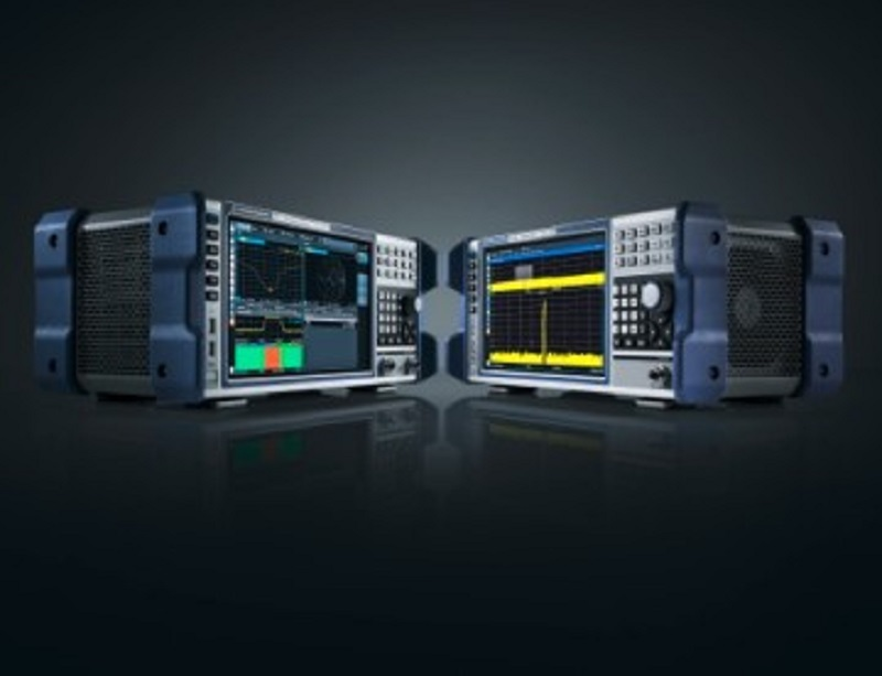 R&S ZNL network analyzer and R&S FPL1000 spectrum analyzer form a family of compact, portable test instruments