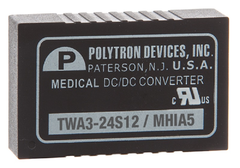 Wide Input Range, Medically Approved DC:DC Converters from Gresham Power Electronics