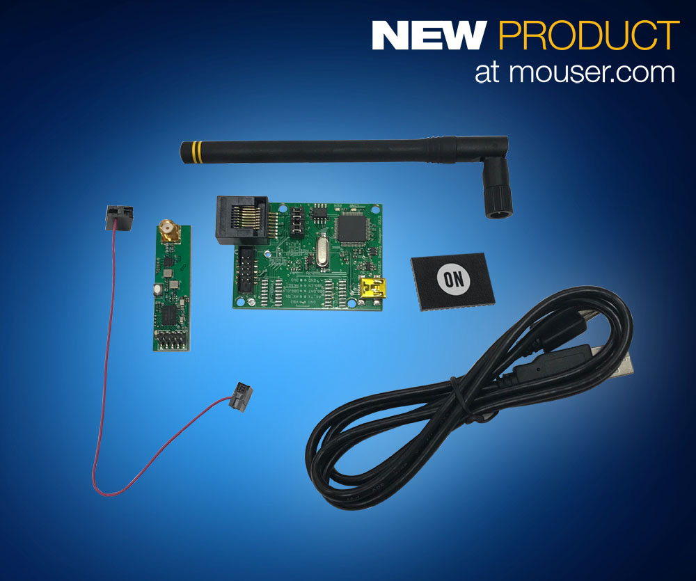 Mouser Now Shipping ON Semiconductor's Sigfox Connectivity Solutions for Low-Power IoT Networks