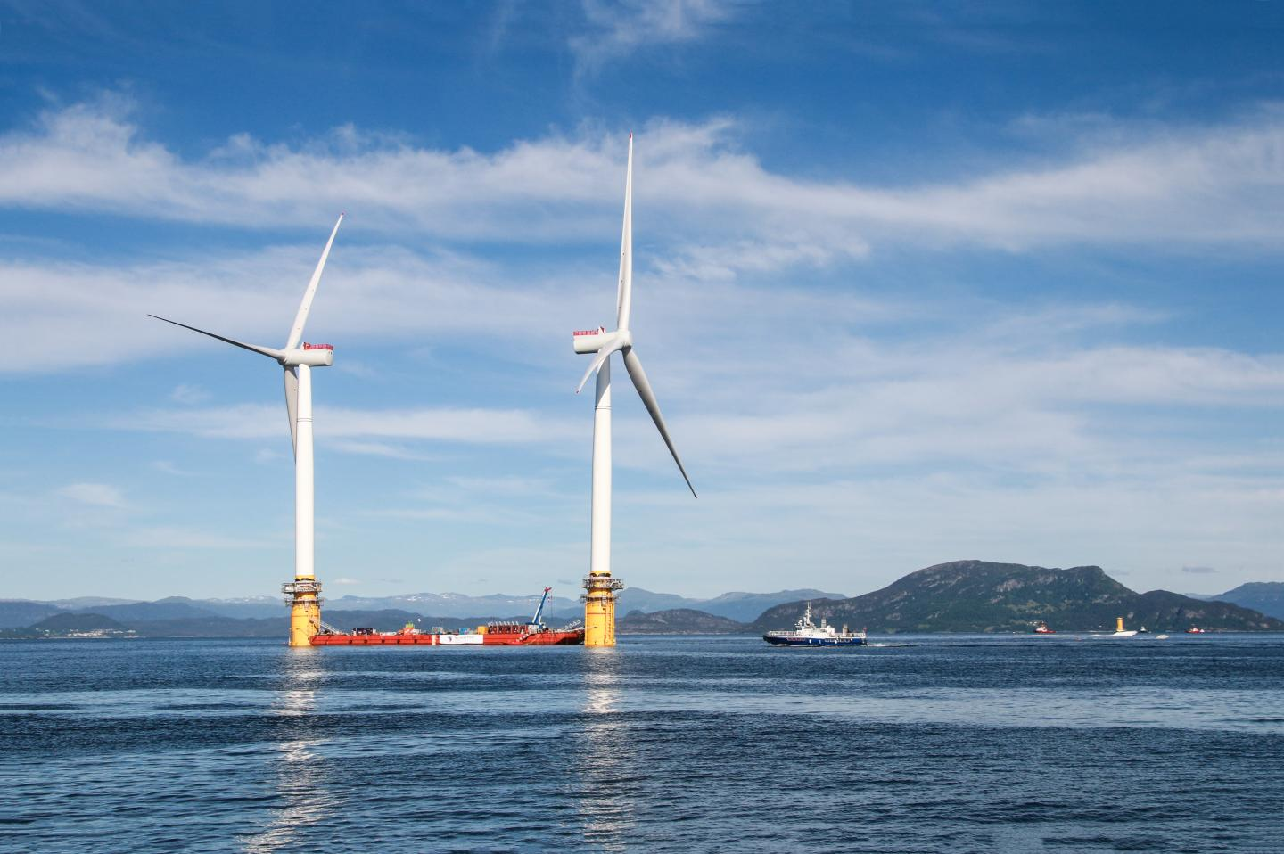 Huge Energy Potential in Open Ocean Wind Farms in the North Atlantic