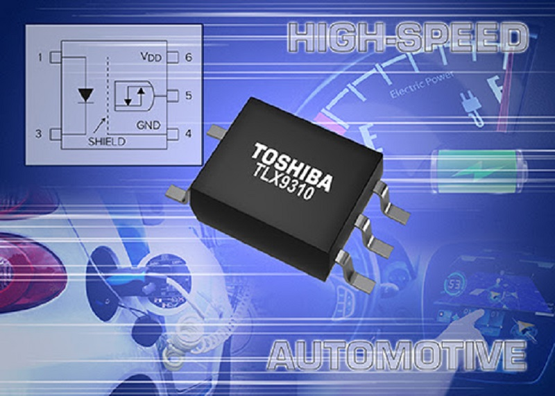 Toshiba's New Low Power Consumption Photocoupler Achieves High Speed Communication in Automotive Applications