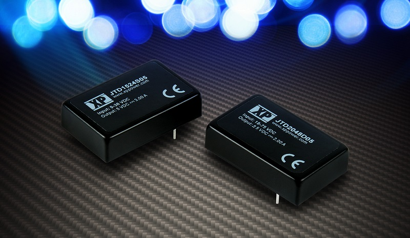 XP Power launches 15W and 20W DC-DC converters for cost sensitive applications