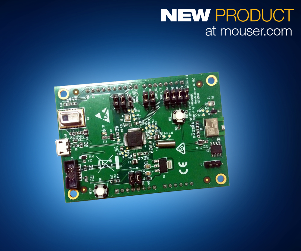 Build People-Detection IoT Prototypes with Panasonic's Grid-EYE Eval Kit, Now at Mouser