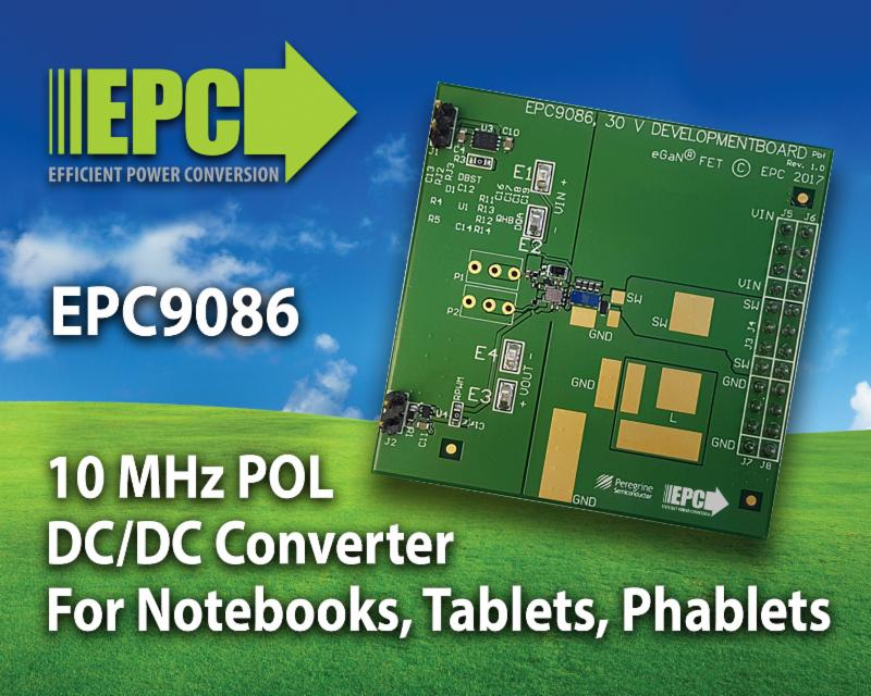 Development Board Operates Up To 10 MHz for High Efficiency at High Frequency Point-of-Load DC-DC Conversion