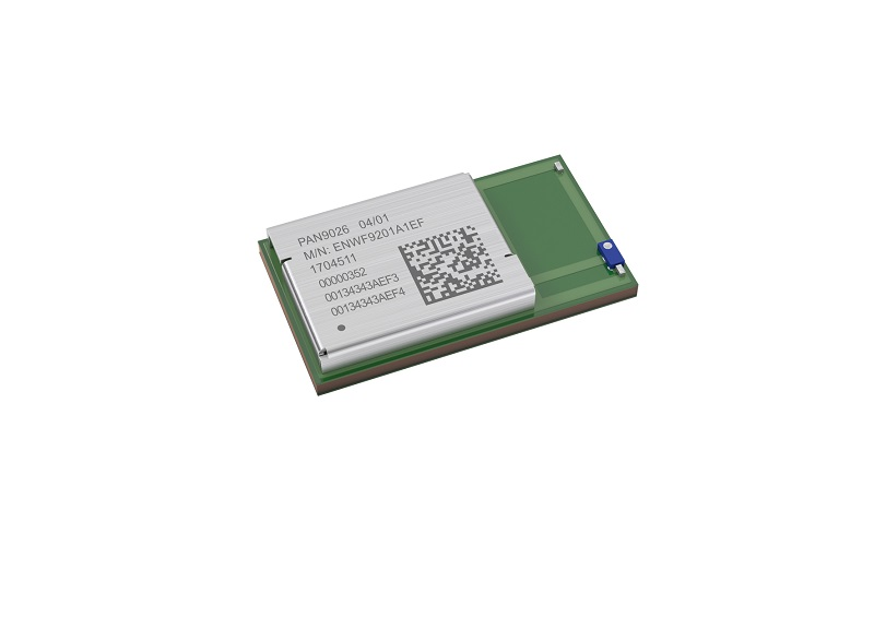 New dual-band Wi-Fi radio module with Bluetooth functionality from Panasonic enables high data rates and low-power operation