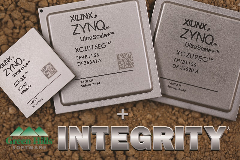 Green Hills Software Announces INTEGRITY Solutions for the Xilinx Zynq UltraScale+ MPSoC