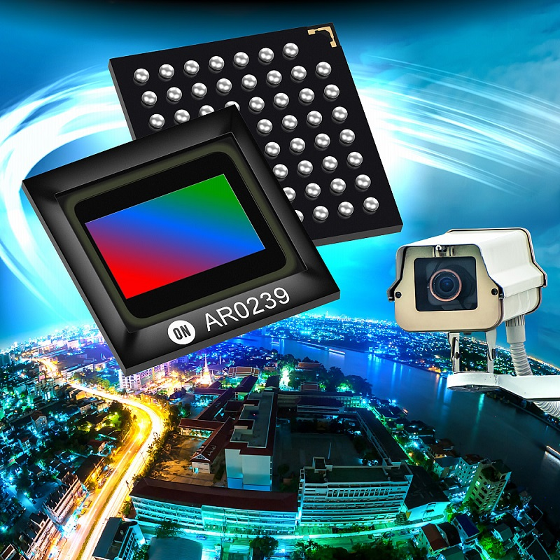 New 2.3Mp CMOS Digital Image Sensor from ON Semiconductor is first to combine 1080p resolution with BSI Pixel technology to satisfy challenging security and surveillance applications