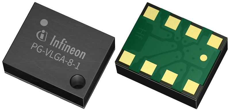 New at Rutronik: minimized pressure and temperature sensor from Infineon