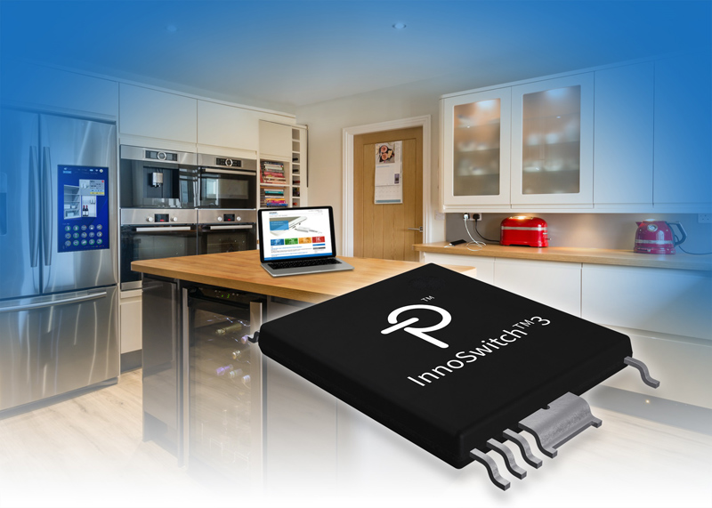 Power Integrations Launches InnoSwitch3, a 94%-Efficient Offline Flyback Switcher IC Family