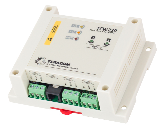 Ethernet Data Logger Designed for Remote Automation and Industrial Controls