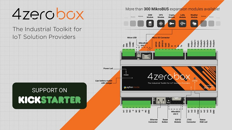 Industrial IoT gets out of the box with 4zerobox!