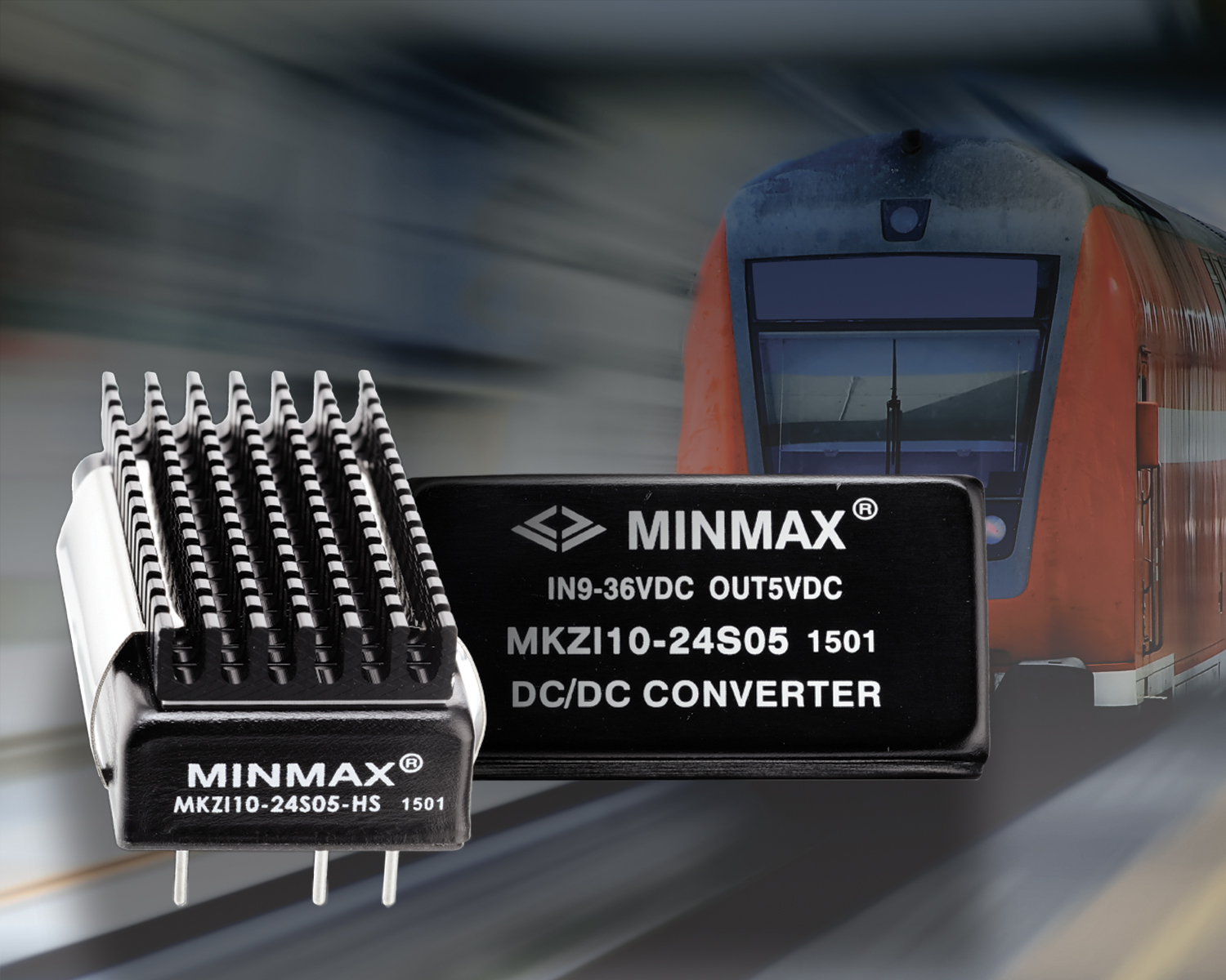 10 Watt Converters Intended for Railway Applications and Battery Powered Equipment