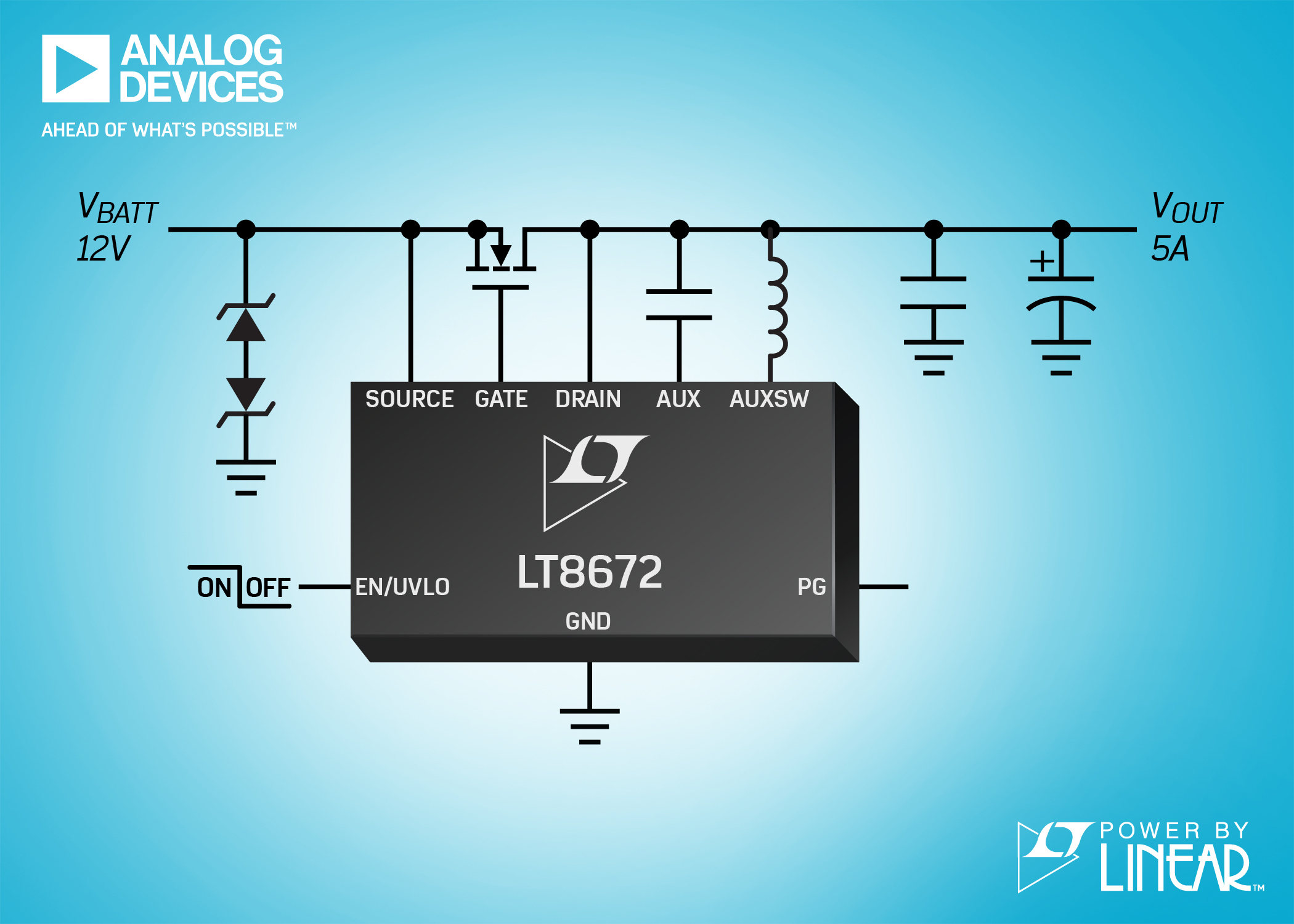 Active Rectifier Controller Features Reverse Protection