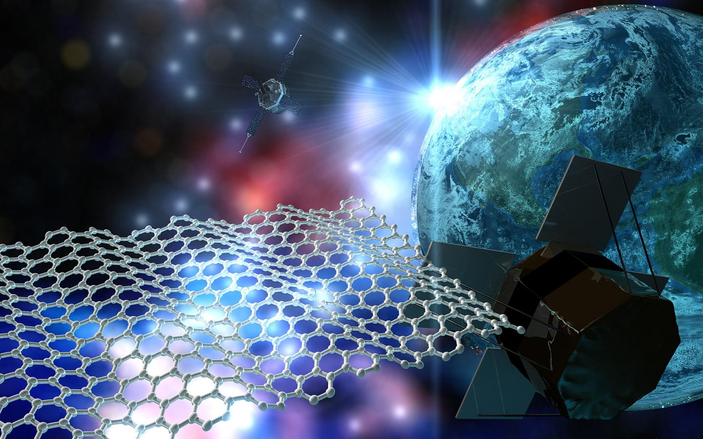 3...2...1...Launch! Graphene Goes Zero G!