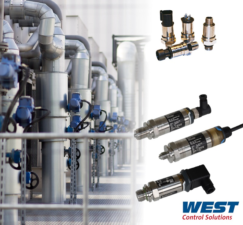 Comprehensive Pressure Transmitter Portfolio from West Control Solutions has Scope to Attend to Most Demanding OEM Requirements