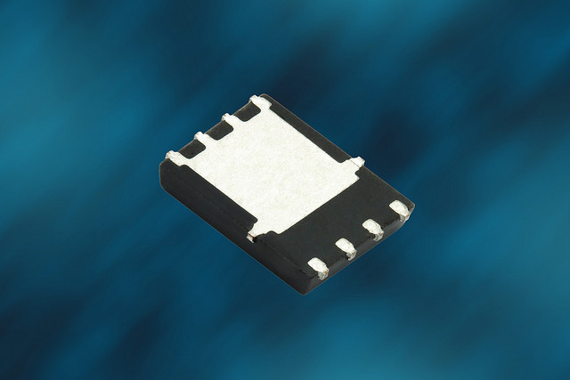 N-Channel Power MOSFET Features Maximum On-Resistance of 0.58 mΩ at 10 V