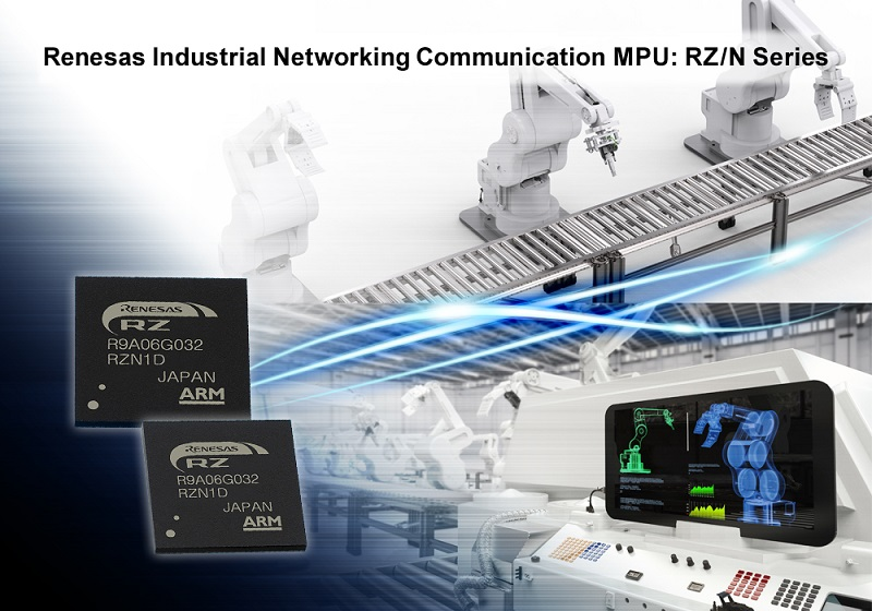 Renesas Electronics Accelerates Industrial Ethernet Application Development with New RZ/N1 Solution Kit