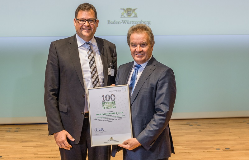 Baden-W�rttemberg state government recognises resource efficiency in circuit board production