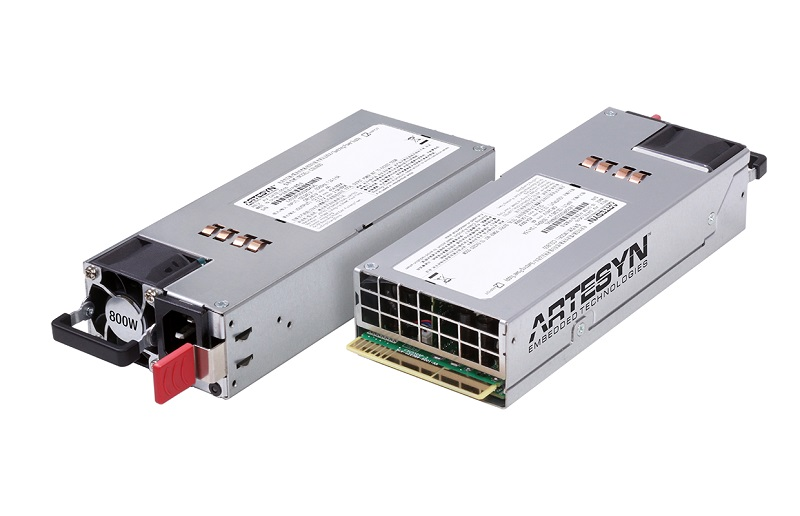 Artesyn Embedded Technologies today announced a new 800-watt server power supply following the Intel Common Redundant Power Supply (CRPS) specification