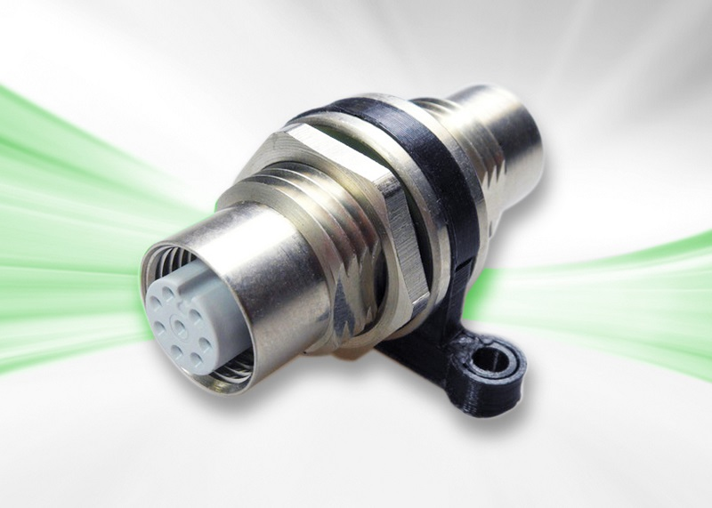PROVERTHA M12 Gender Changer Connector enables simple, reliable connection of homogenous M12 cables - now available at Aerco
