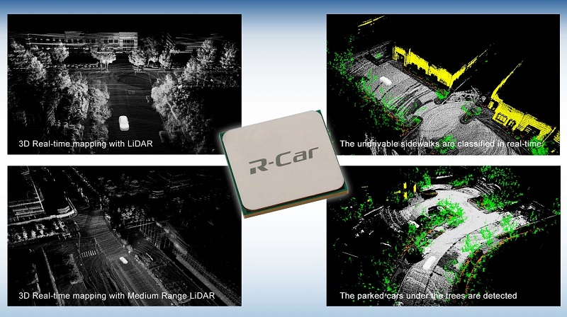 Renesas Electronics and Dibotics Realize Real-Time, Power-Efficient LiDAR Processing Based on R-Car SoC to Boost Autonomous Driving