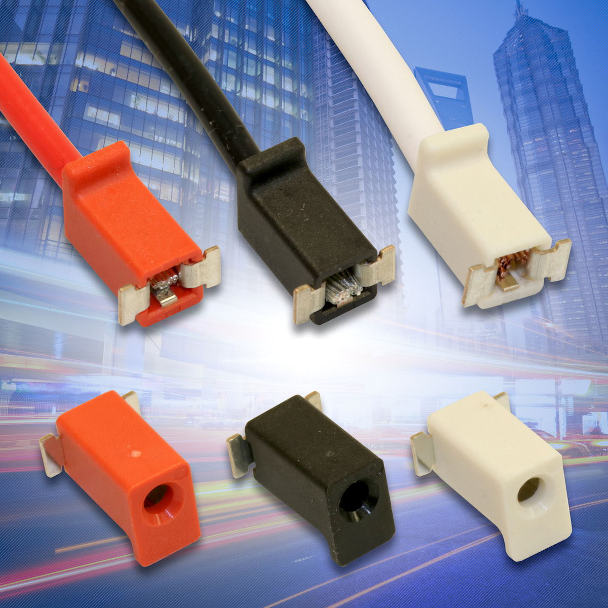 Wire-to-Board Connectors Deliver Simple, Robust, Repeatable, & Cost-Effective Wire Terminations