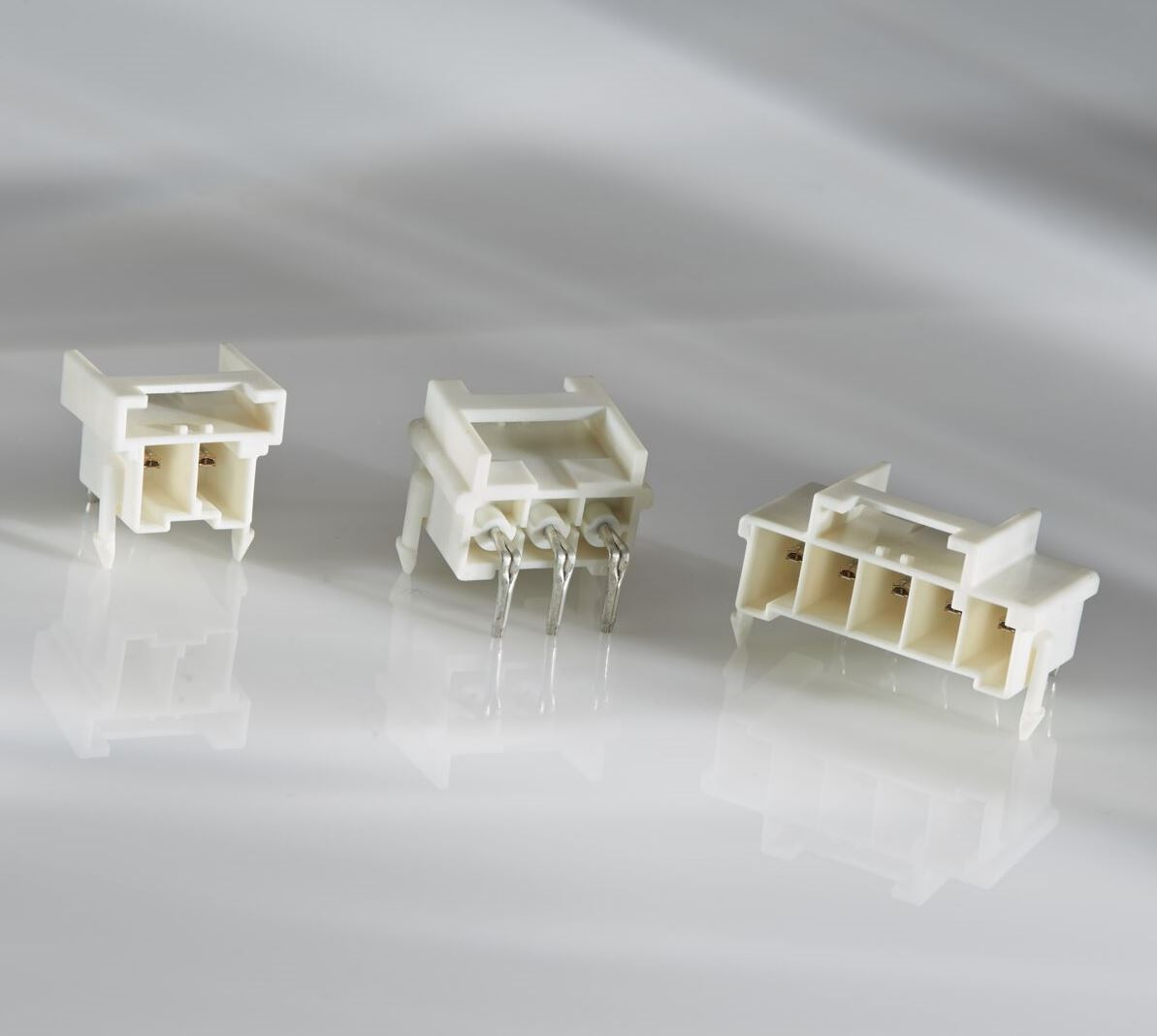 Connector Family Features new Headers for Through-Hole, Printed Circuit Board Applications