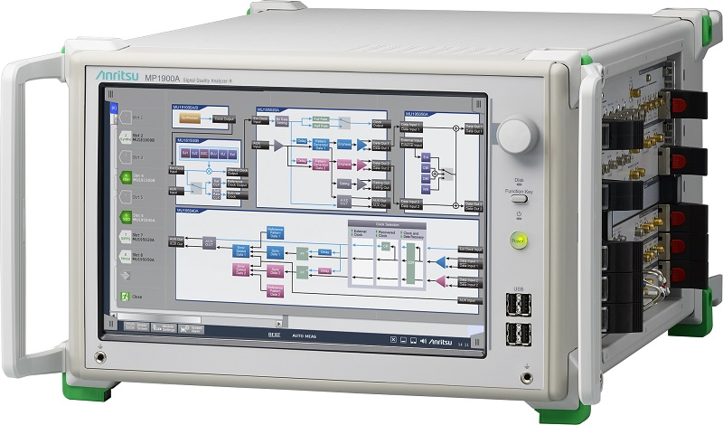 Anritsu Upgrades Signal Quality Analyzer High-Speed Interface Measurement Functions