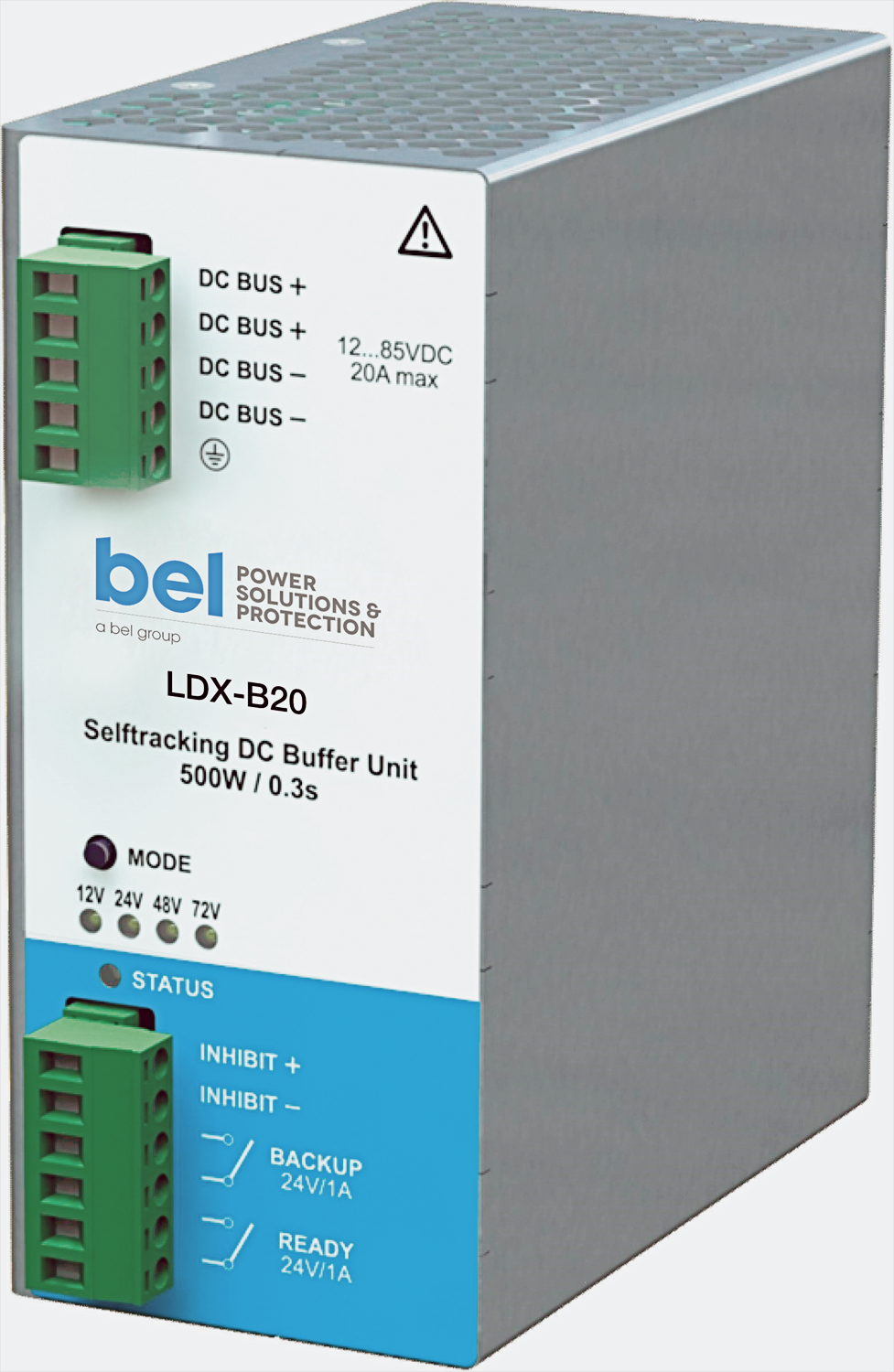DIN Rail Mounted Buffer Module Keeps Your Output Voltage Regulated