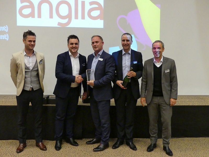 Anglia named Panasonic's Regional Distributor of the year