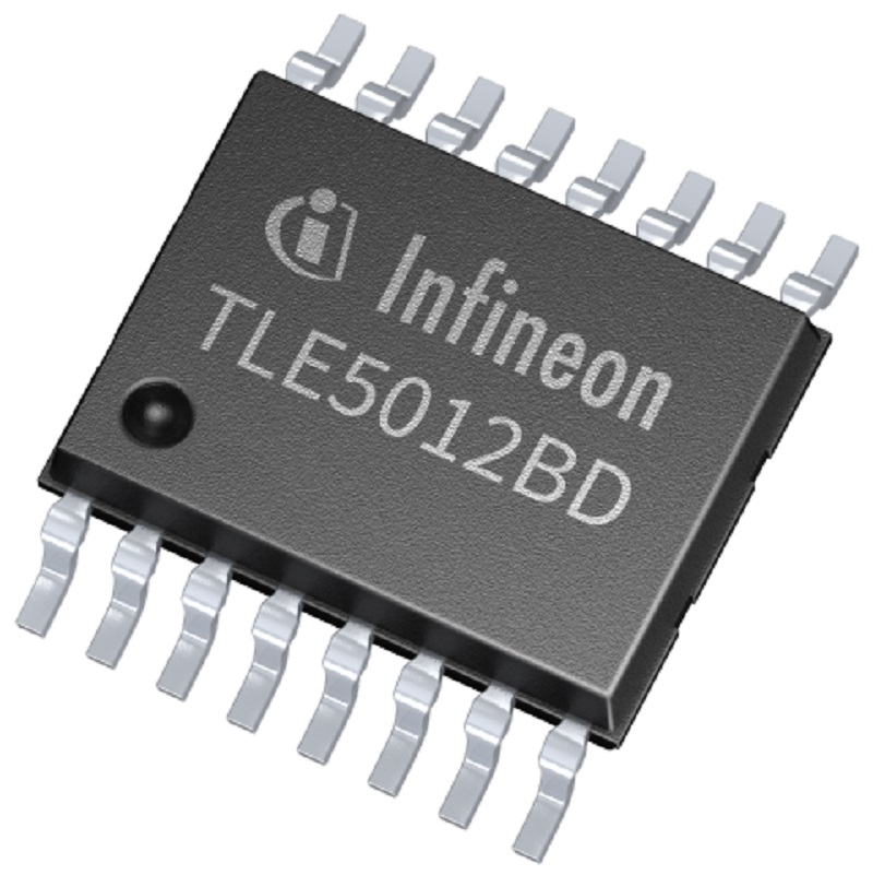 AEC-Q100 qualified dual die angle sensor from Infineon at Rutronik