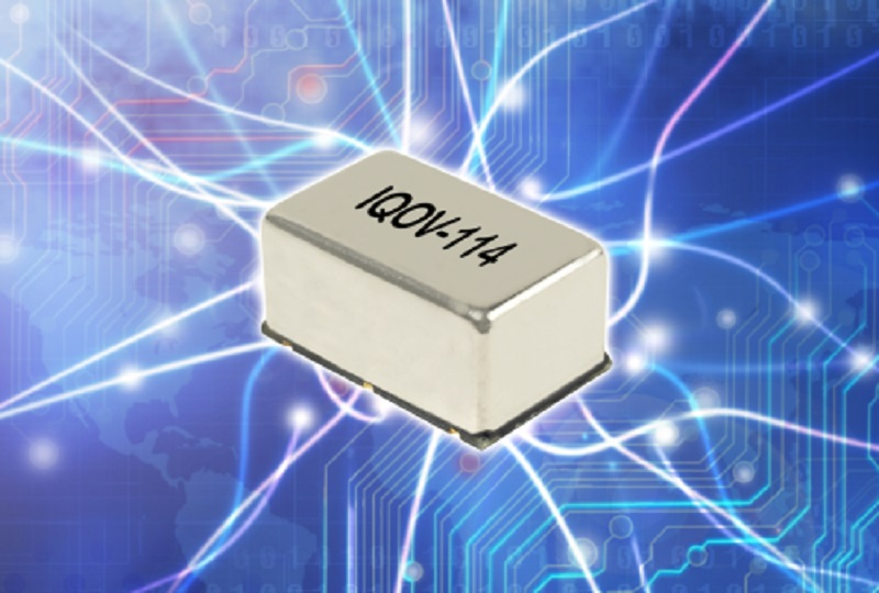 IQD targets high performance communications applications with new tight stability, low phase noise OCXO