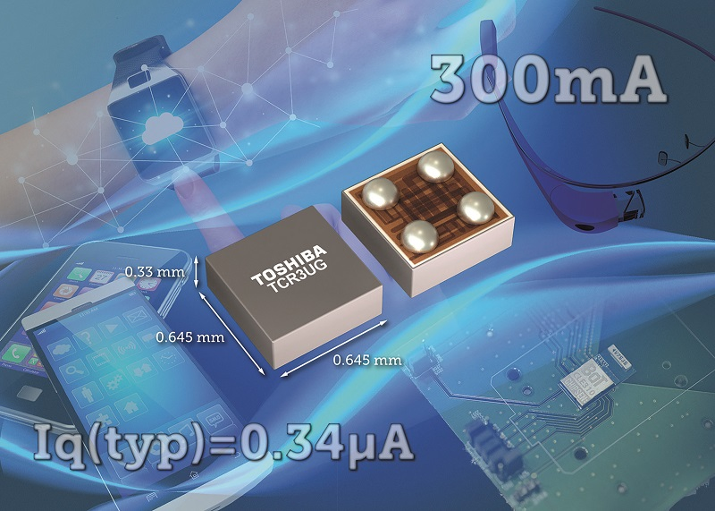 Toshiba launches small LDO regulator ICs suitable for IoT applications
