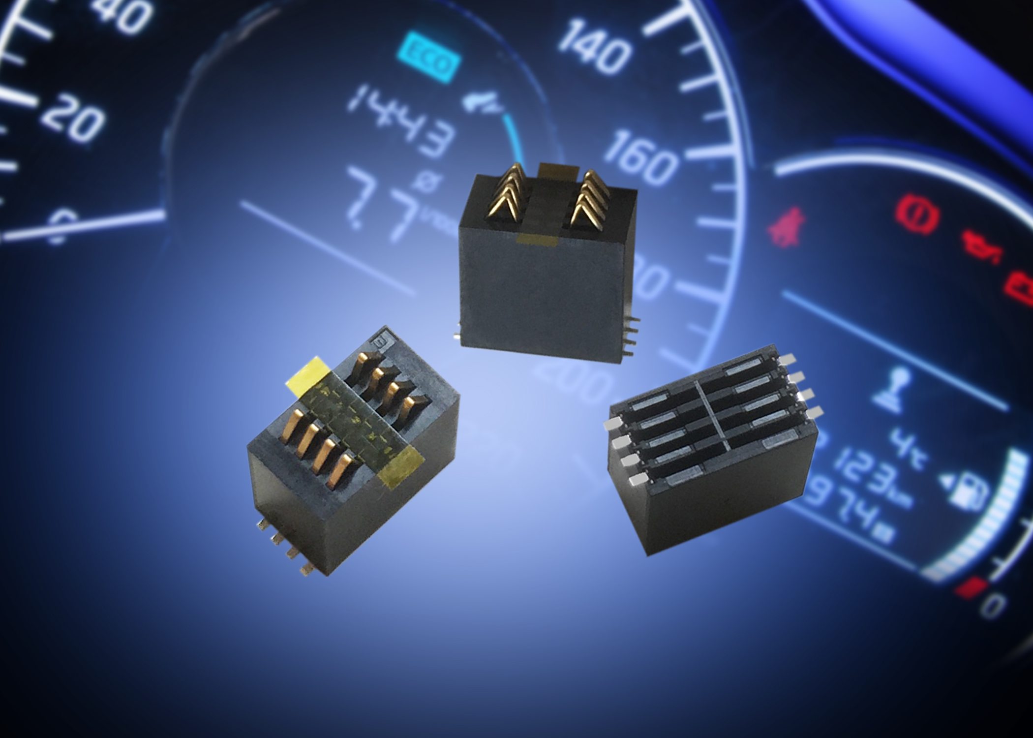 Board-to-Board Stacker Connectors Help Reduce Tolerance Accumulation
