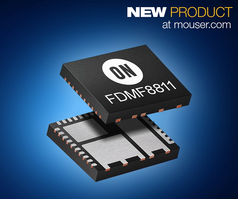 Mouser Electronics First Distributor to Stock ON Semi's FDMF8811 110V Bridge Power Stage Module