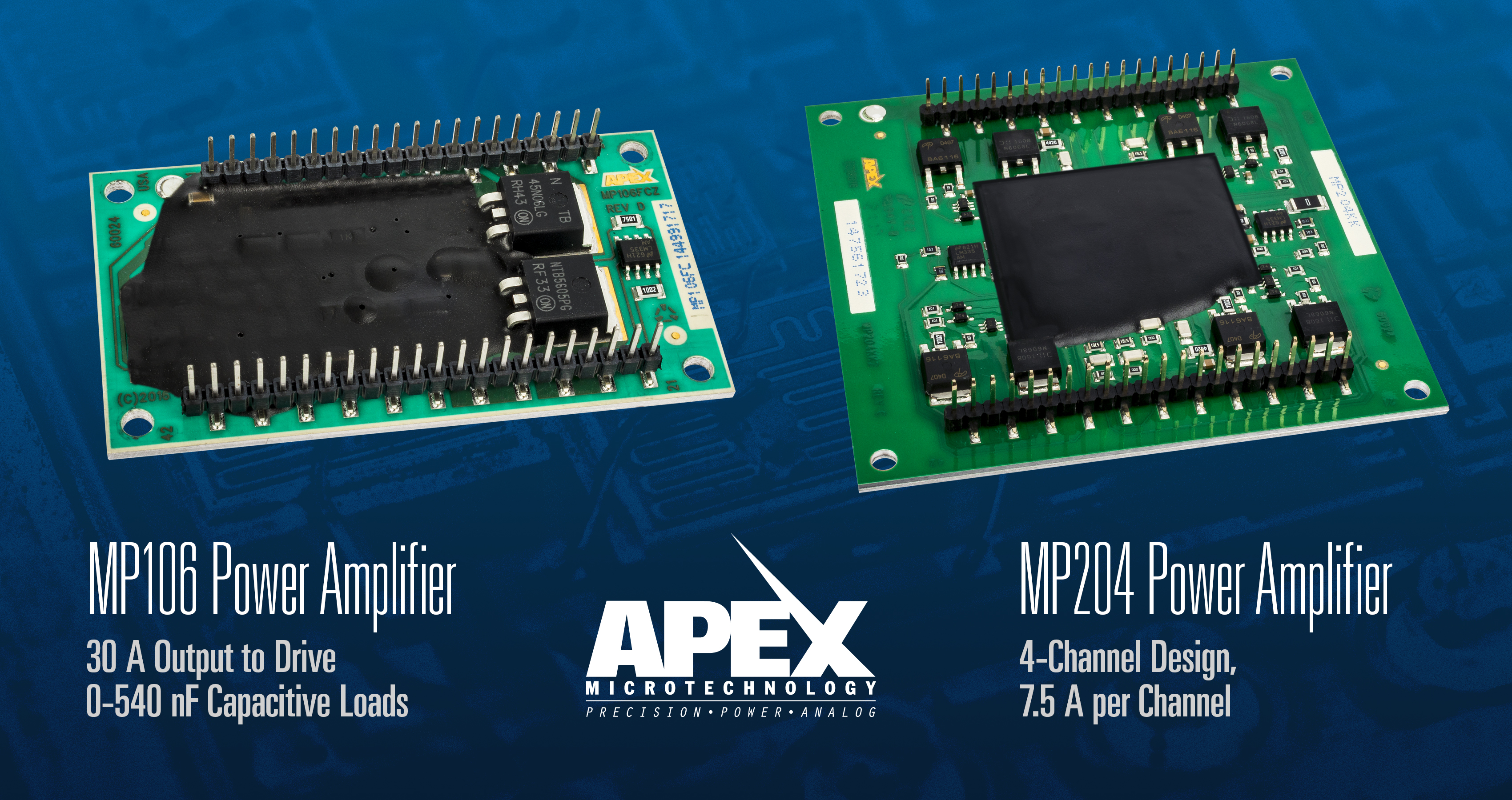 Amplifiers Specialize in Driving Piezoelectric Capacitive Loads in Inkjet Printer Heads