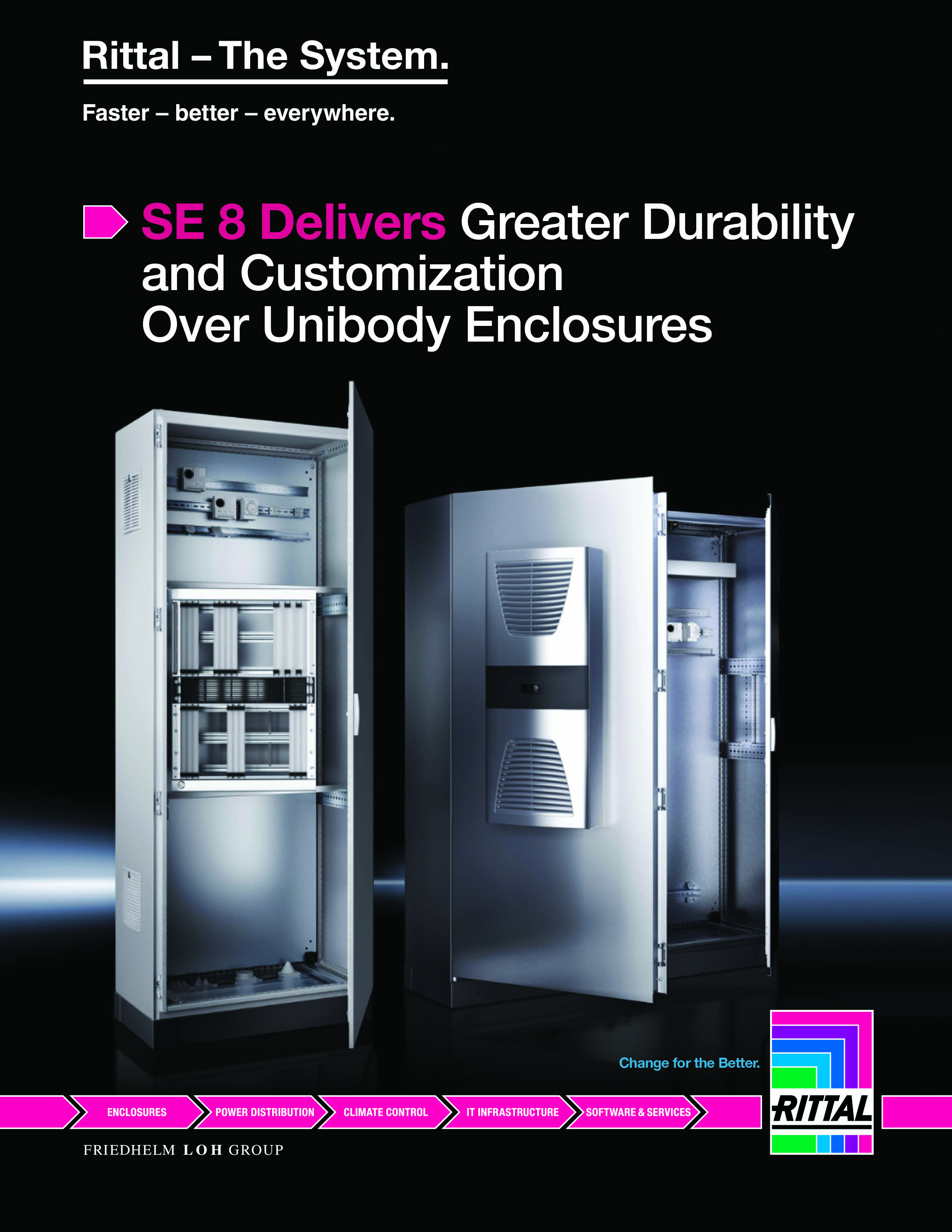 New Enclosure Line Offers Better Value and Durability Than Unibody Enclosures