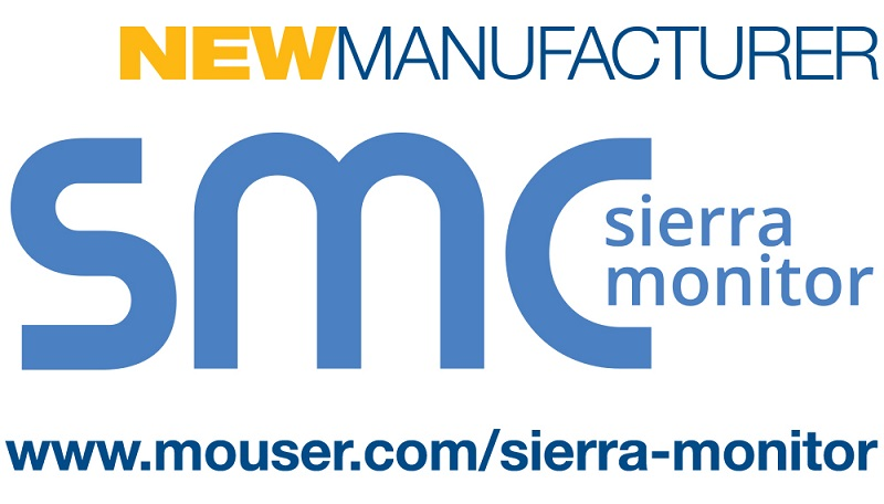 Mouser Electronics Signs Global Distribution Agreement with IIoT Solutions Provider Sierra Monitor