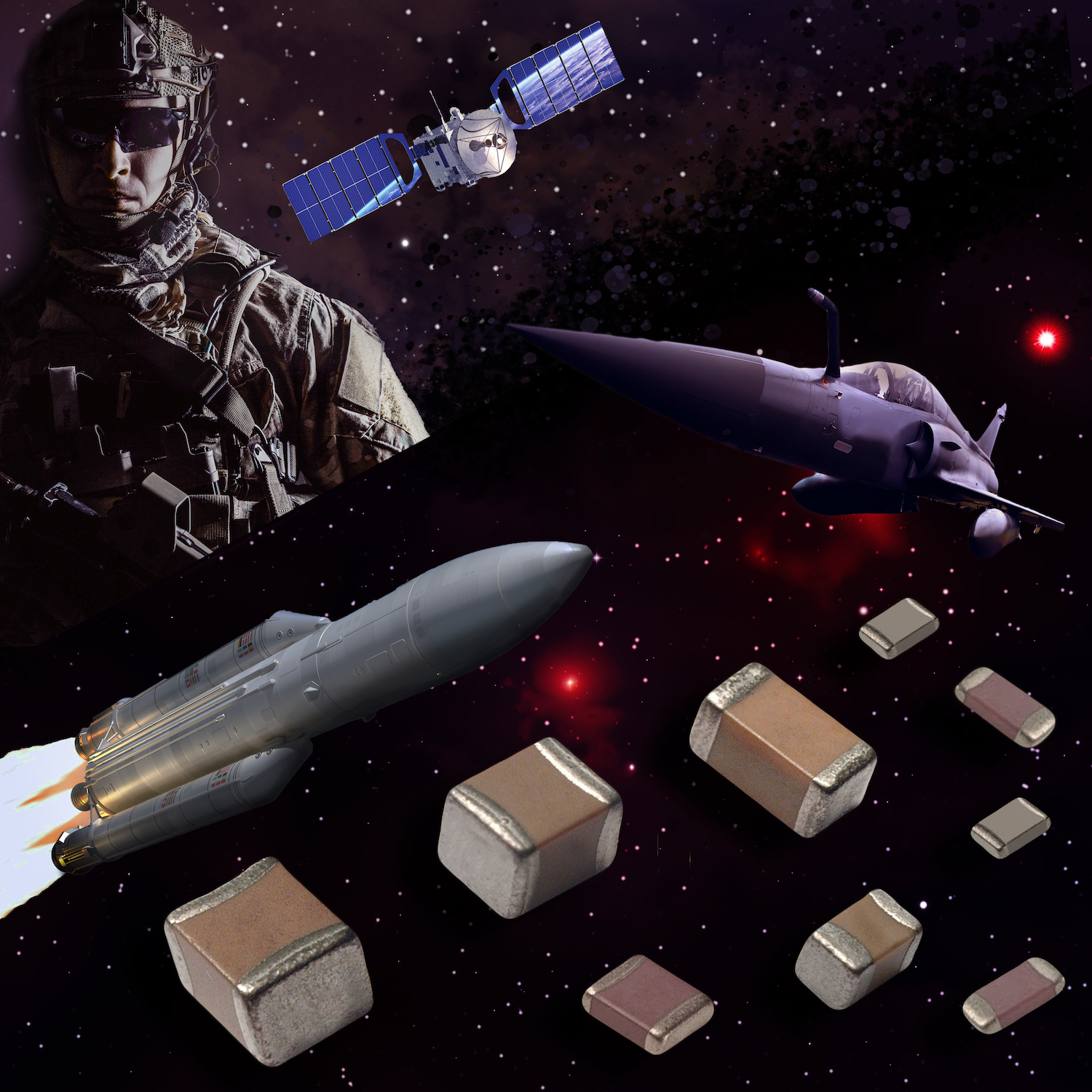 MLCCs Approved to the Defense Logistics Agency's MIL-PRF-32535 Specification