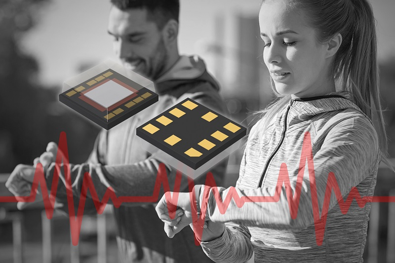 ROHM develops sensor IC for high-speed heart rate measurement for determining blood pessure, stress and vascular age