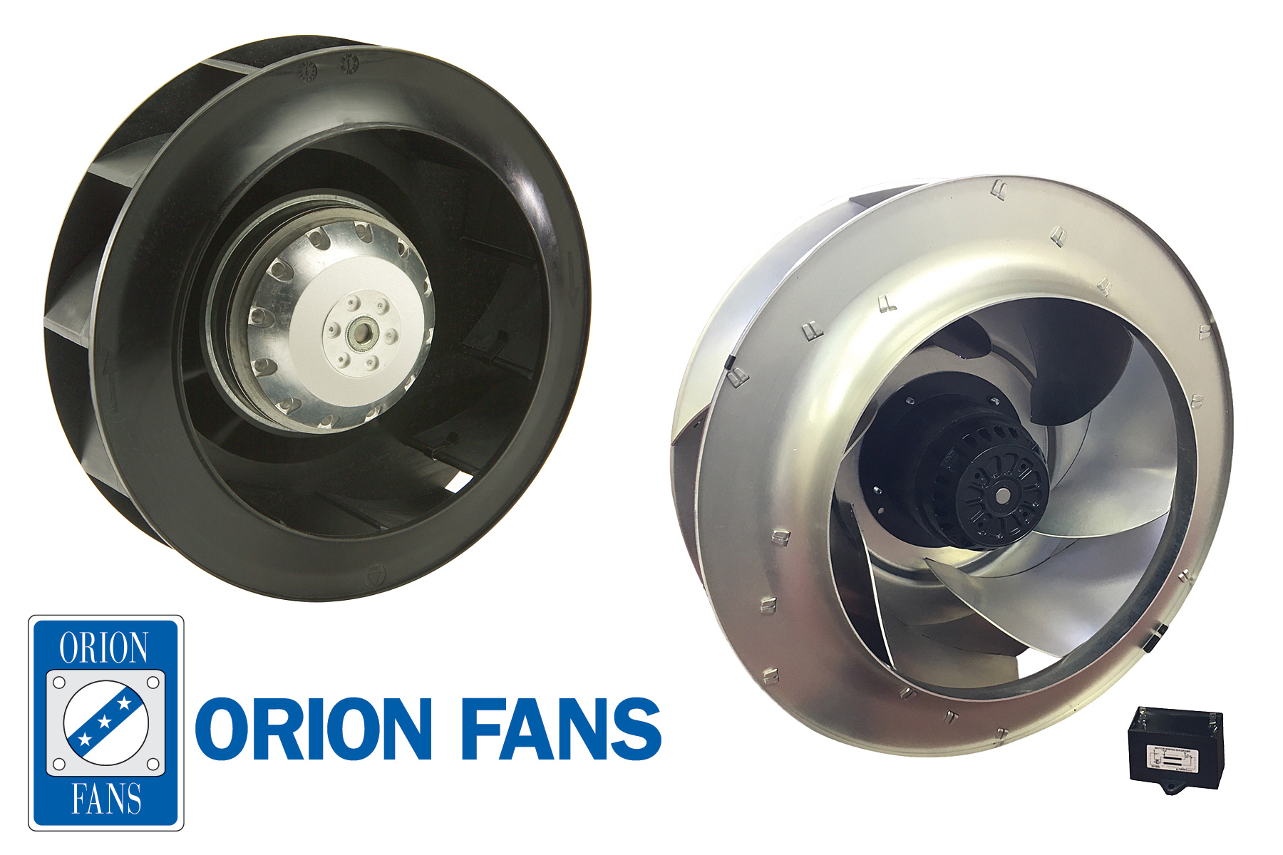 Orion Fans Expands AC Motorized Impellers Family & Adds New DC Motorized Impeller Line