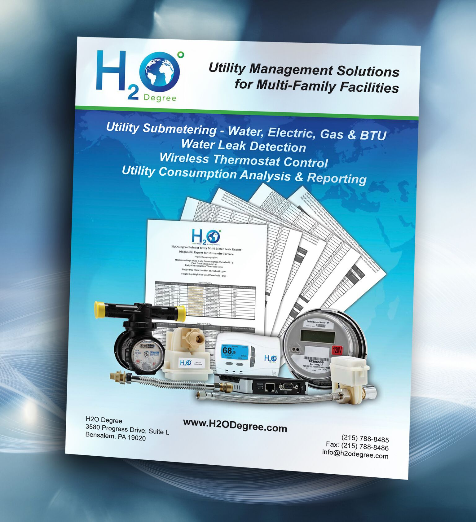 60-Page Catalog Features Utility Management, Leak Detection, Submetering, Thermostat Control, and Reporting Solutions for Multi-Family Facilities