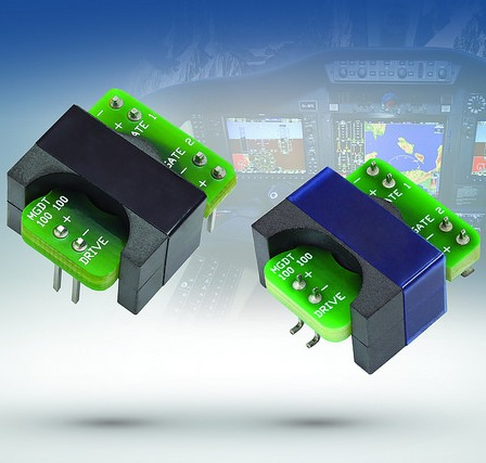 Miniaturized Gate Drive Transformers in Planar Package Save Space Over Traditional Winding Technology
