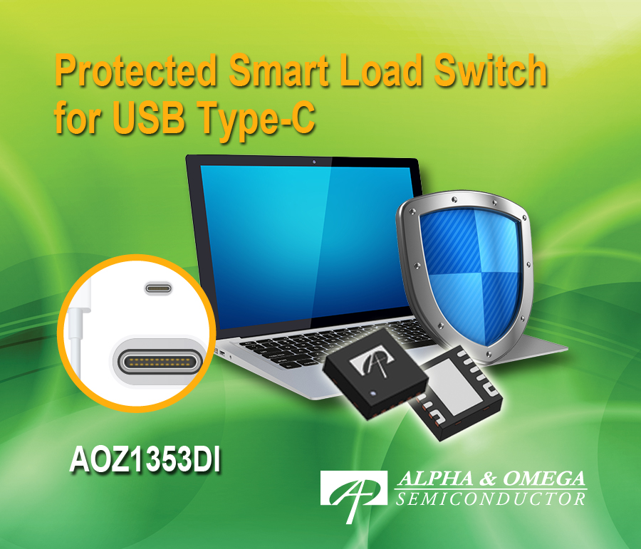 Protected Smart Load Switch Designed for USB Type-C Applications